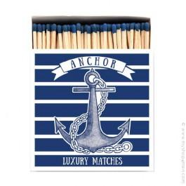 Allumettes de luxe ancre marine