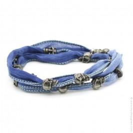 River skull bracelet