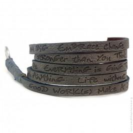 Bracelet around eco grey