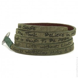 Bracelet around eco olive