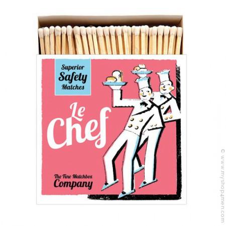 Allumettes de luxe Chef