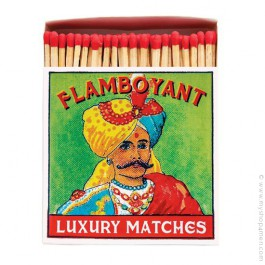 Flamboyant luxury matchbox