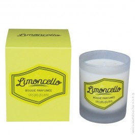 perfumed vegetal candle