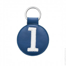 Leather keychain n°1