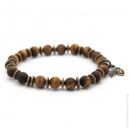 Bracelet Sonora tiger eyes mat