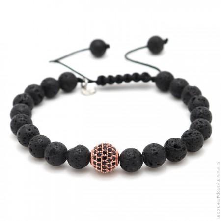 Bracelet Modragor pierre de lave