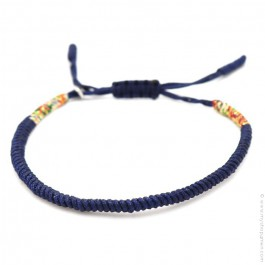 Bracelet Tibetain bleu marine
