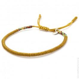 Tibetan saffron bracelet