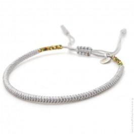 Tibetan silver grey bracelet