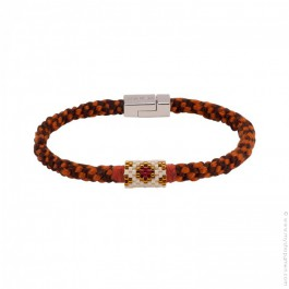Hipanema Josh rust bracelet for men