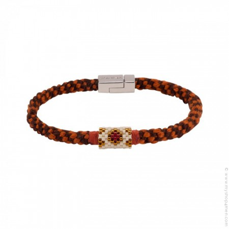 Bracelet Hipanema Josh rust