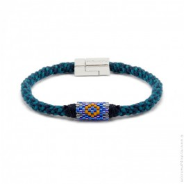 Hipanema Josh navy bracelet for men