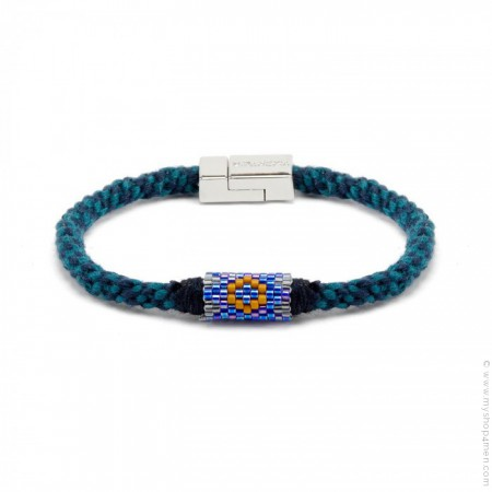 Hipanema Josh navy bracelet for men