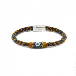 Hipanema Josh ochre bracelet for men