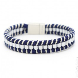 Hipanema blue Clyde bracelet for men