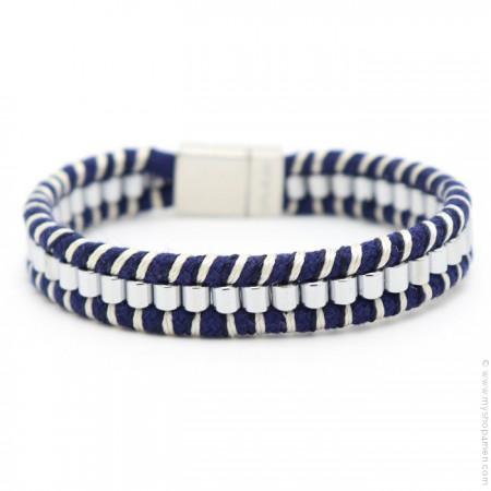 Bracelet Hipanema Clyde blue