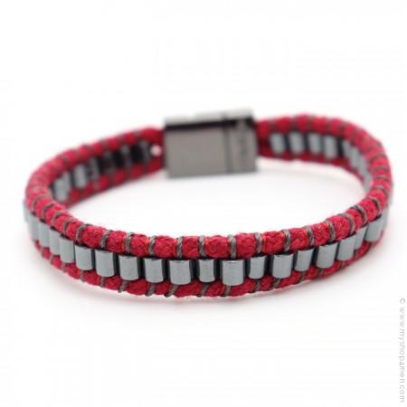 Hipanema rust Clyde bracelet for men