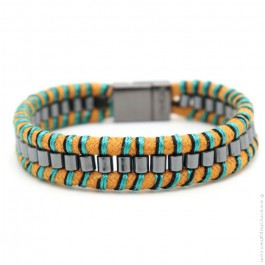 Hipanema ocre Clyde bracelet for men