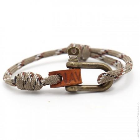 Bracelet Fisherman desert laiton antique