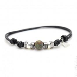 Les Belles Persones african turquoise Bengal bracelet