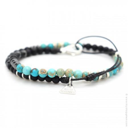 Bracelet Matt turquoise