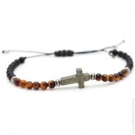 Les Belles Persones Salvi tiger eye bracelet