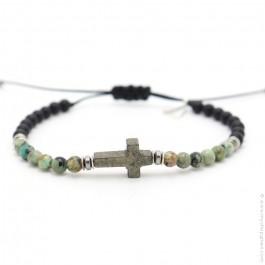 Les Belles Persones Salvi african turquoise bracelet