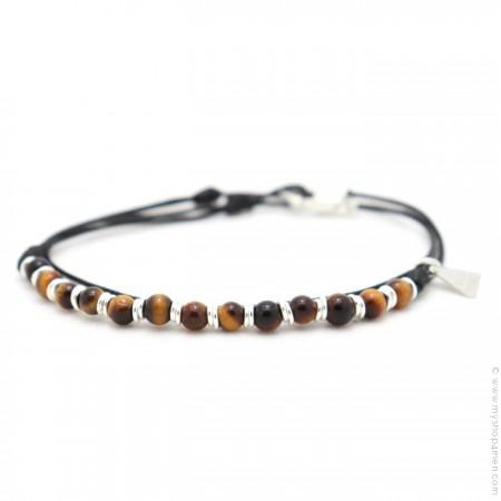 Bracelet Roll XS oeil de tigre