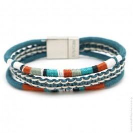 Bracelet Hipanema Claude bleu