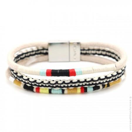Bracelet Hipanema Claude white