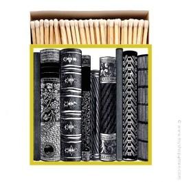 Allumettes de luxe livres noirs