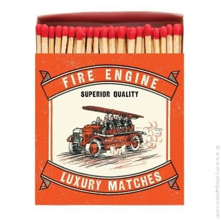 Allumettes de luxe camion de pompiers vintage