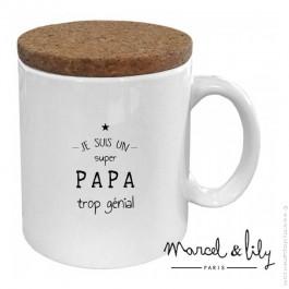 Mug Je suis un super papa trop génial