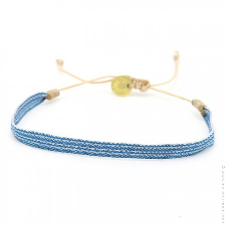 Bracelet Argentinas bleu et blanc