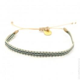 Bracelet Argentinas noir et kaki