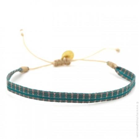 Bracelet Argentinas vert d'eau
