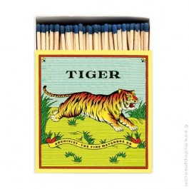 Tiger luxury matchbox