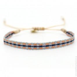 Argentinas bracelet grey navy orange