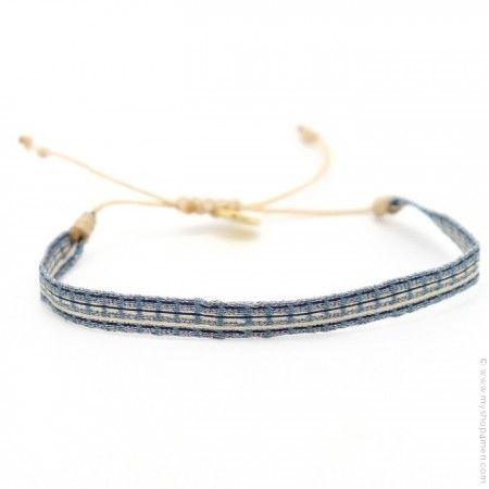 Bracelet Argentinas beige jean