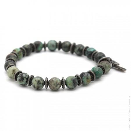 Bracelet Sonora green turquoise