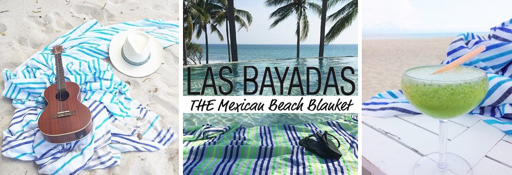 Las Bayadas - Draps de plage made in Mexico
